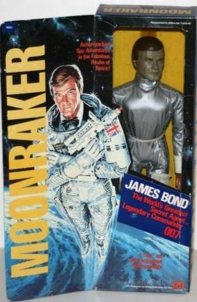 Mego James Bond Figures