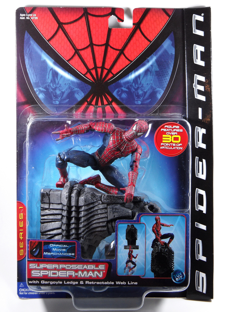 ToyBiz Spider-man
