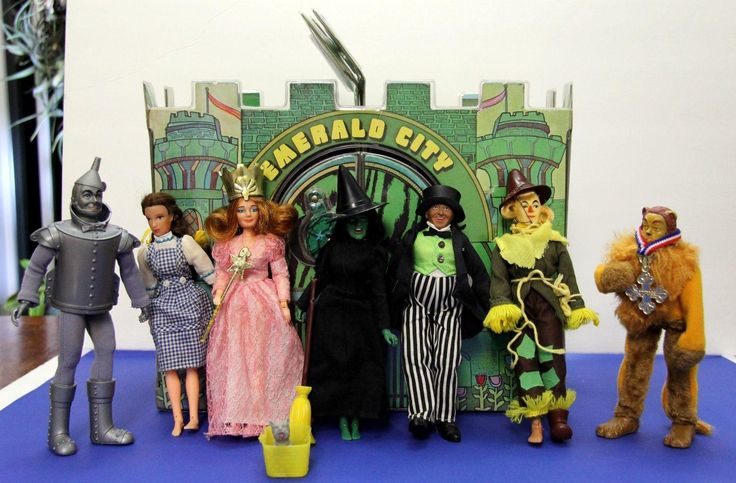 Mego Wizard of Oz Figures