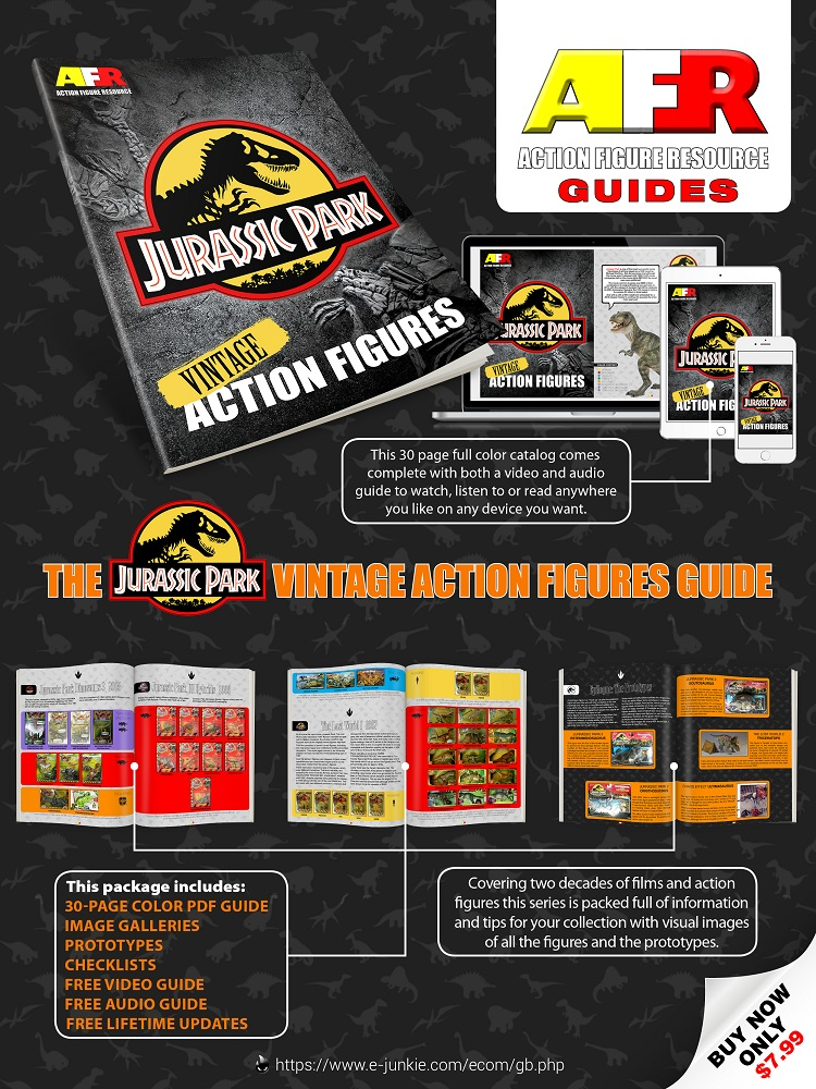 Vintage Jurassic Park Action Figures Guide