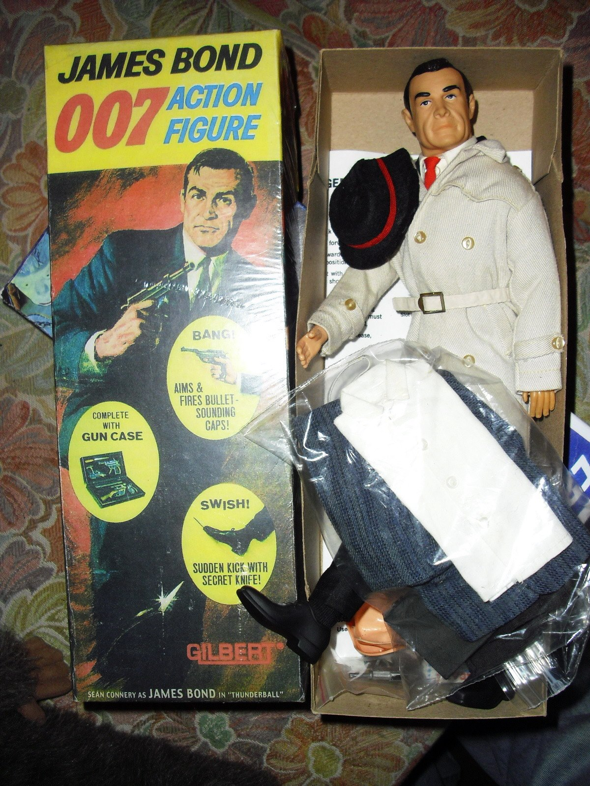 Rare Sears Kicking James Bond