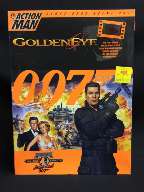 Hasbro James Bond Figures