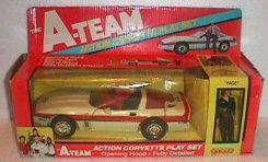 Galoob A-Team Corvette