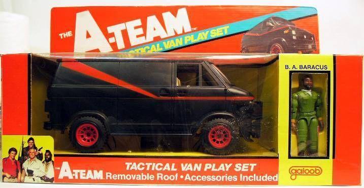 Galoob A-Team Tactical Van