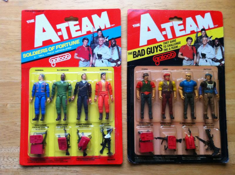 Vintage A Team Action Figures From Galoob