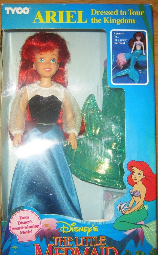 Ariel Dressed to Tour the Kingdom