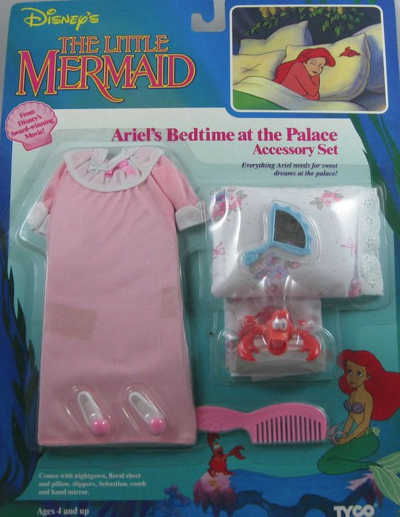Ariel's Bedtime at the Palace nightgown