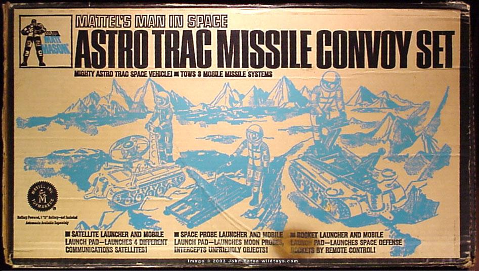 Astro Trac Missile Convoy Set