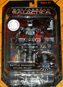 Battle Damaged Cylon Pilot