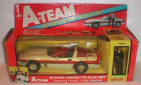 Galoob A-Team Corvette