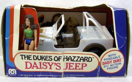 Jeep with Daisy (slim body)