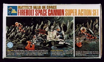 Firebolt Space Cannon Super Action Set
