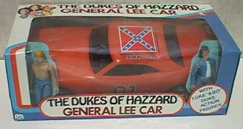 General Lee with Bo + Luke
