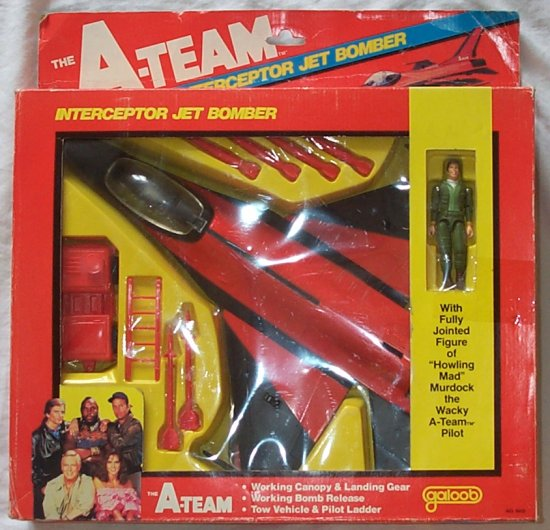 Galoob A-Team Interceptor Jet