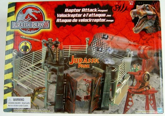 Raptor Attack Playset