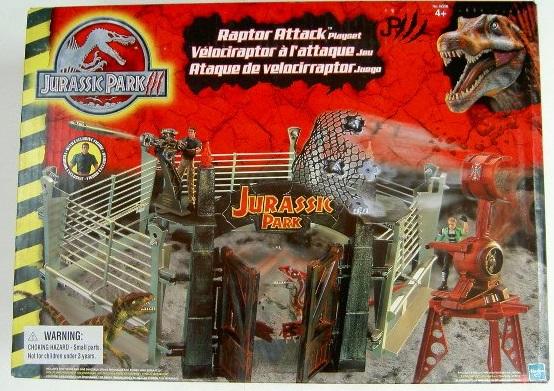 Raptor Attack Playset