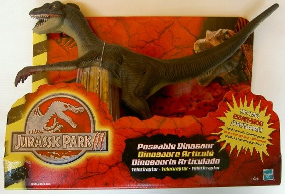 Poseable Raptor