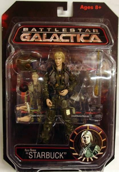 Starbuck Battlestar Galactica >> Which Diamond Select Battlestar Galactica Action Figures Are Rare