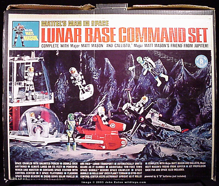 Lunar Base Command Set