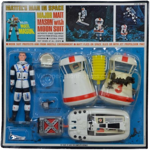 Major Matt Mason & Space Power Suit