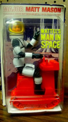Major Matt Mason Mattel's Man in Space Was the Real First ...