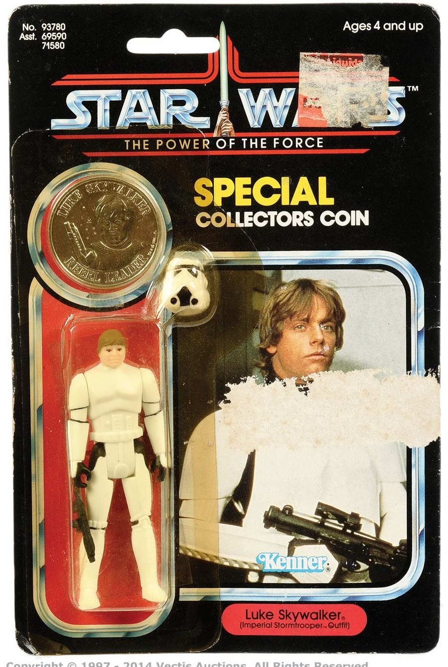 Stormtrooper Luke Skywalker