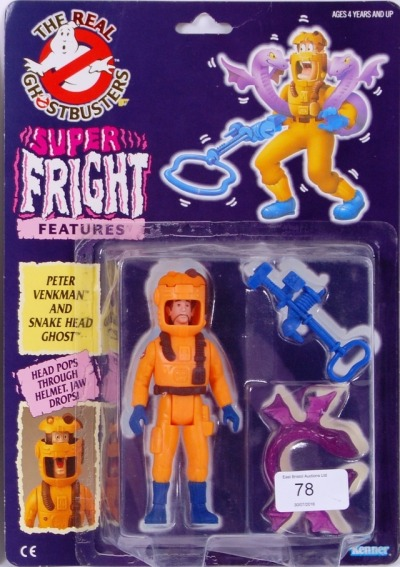 Peter Venkman Super Fright Features The Real Ghostbusters Action Figure Range