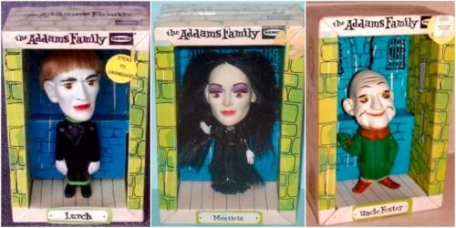 Remco Addams Family Dolls