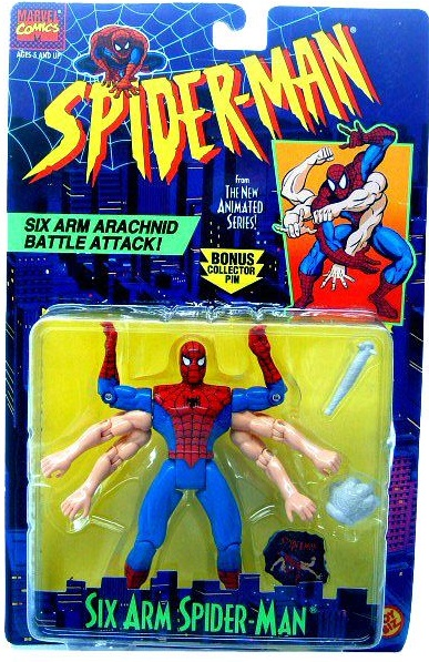 Six Arm Spider-Man