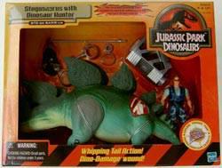 Stegosaurus w/ Dinosaur Hunter