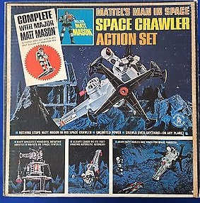 Space Crawler Action Set
