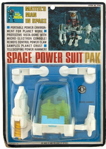 Space Power Suit Pak