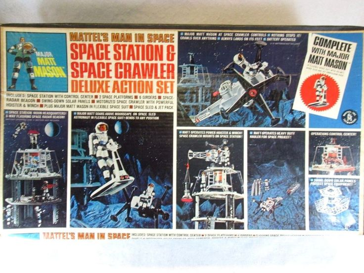 Space Station & Space Crawler Deluxe Action Set