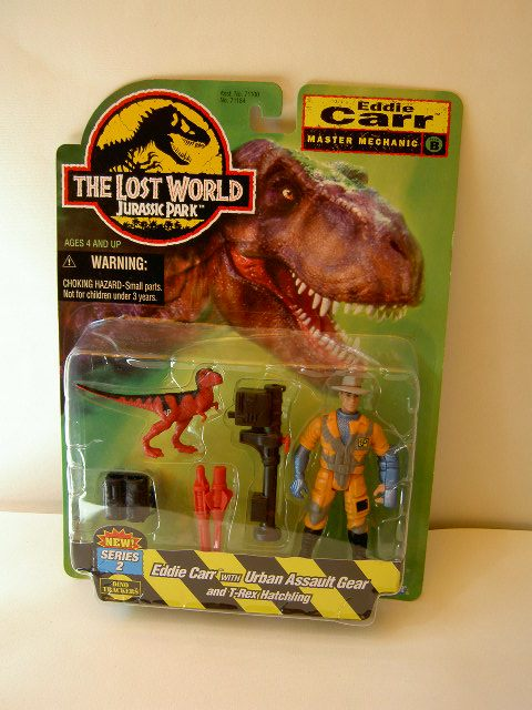 jurassic park toys chaos effect