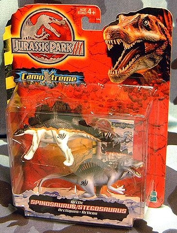 Artic Spinosaurus and Stegosaurus