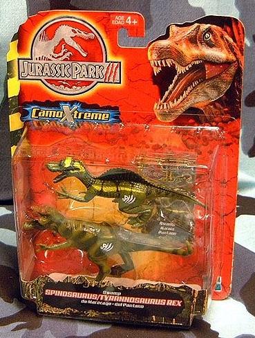 Swamp Tyrannosaurus Rex and Spinosaurus