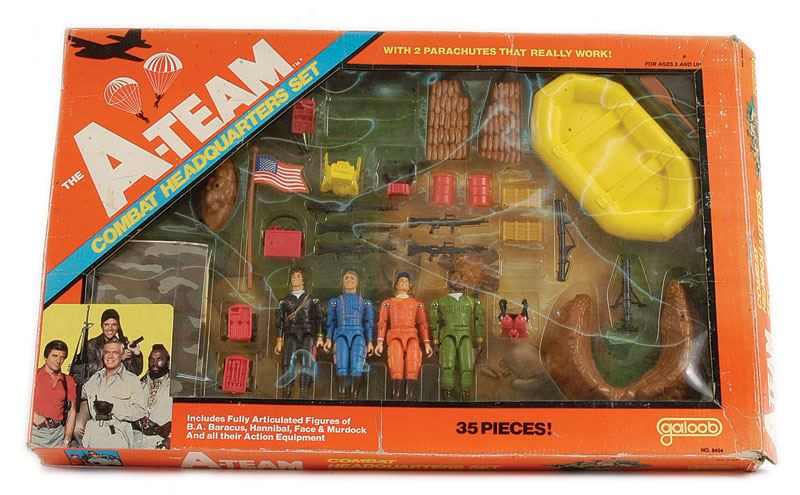 Galoob A Team Camp Set