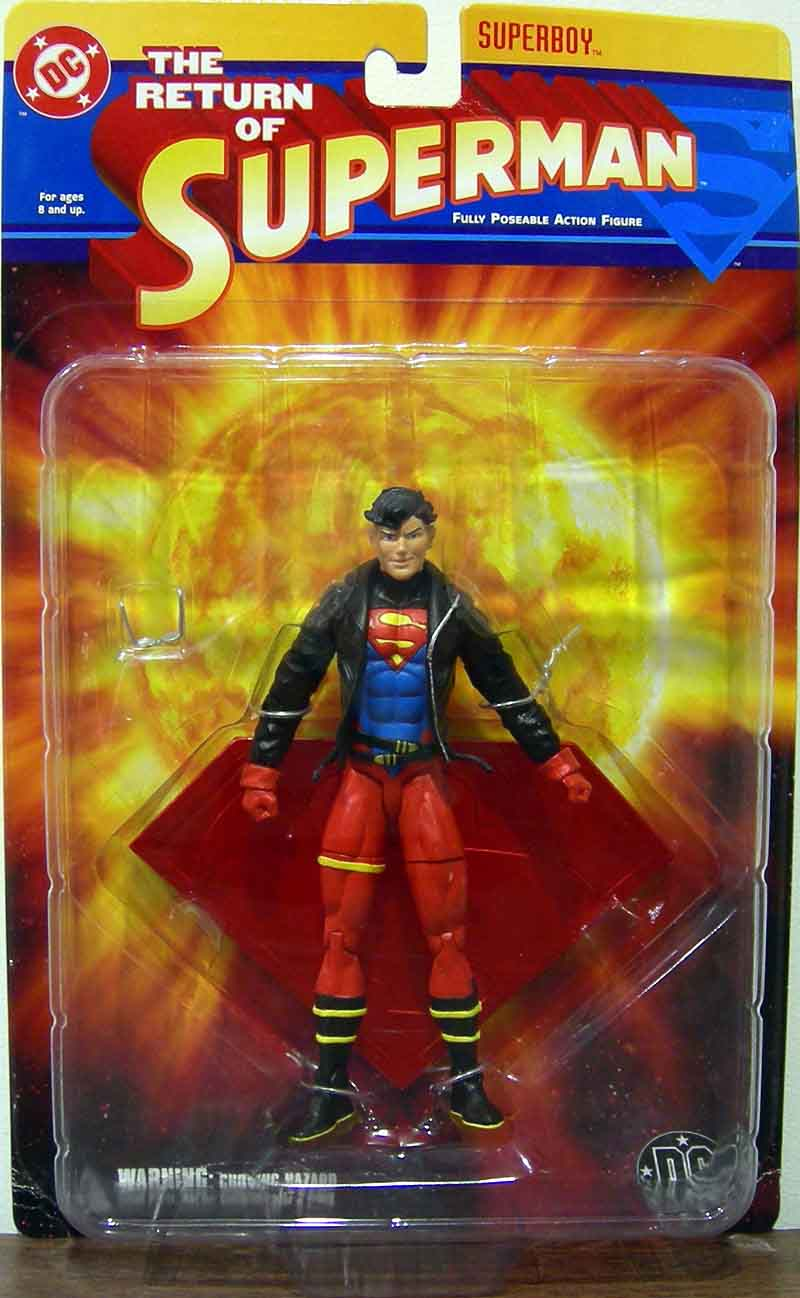 DC Direct Return of Superman- Superboy
