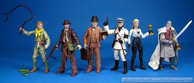 INDIANA JONES Hasbro 2008 3¾ Inch Action Figure Series