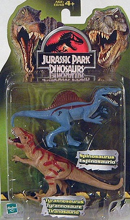 Tyrannosaurus Rex and Spinosaurus