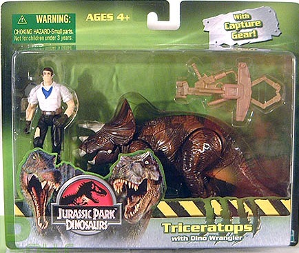 Triceratops with Dino Wrangler