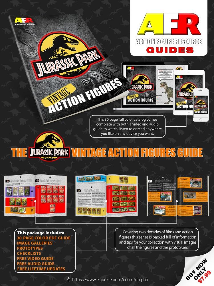 Vintage Jurassic Park Action Figures Guide