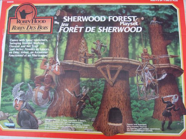 Sherwood Forset Playset