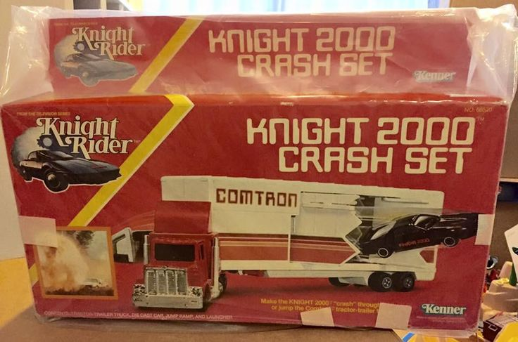 Knight 2000 Crash Set