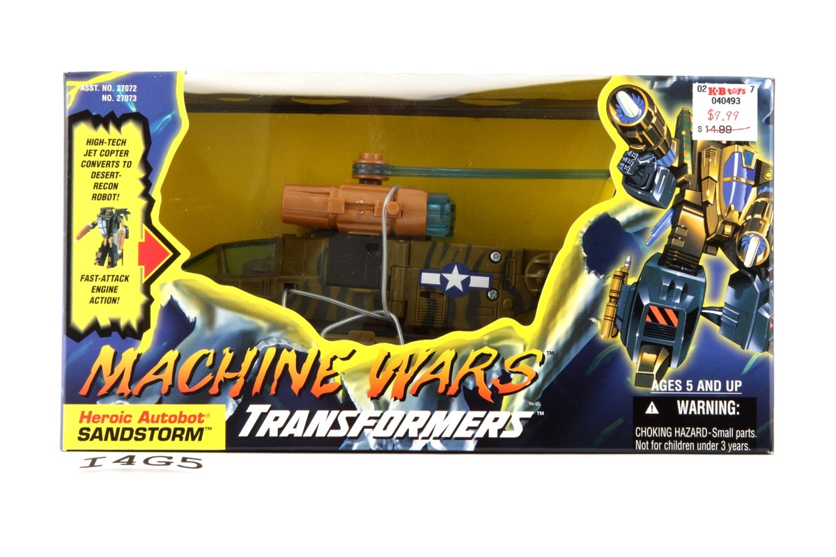 transformers machine wars