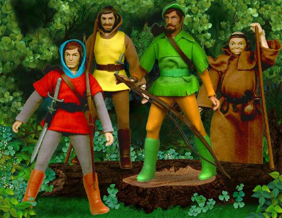 Mego Robin Hood Action Figures