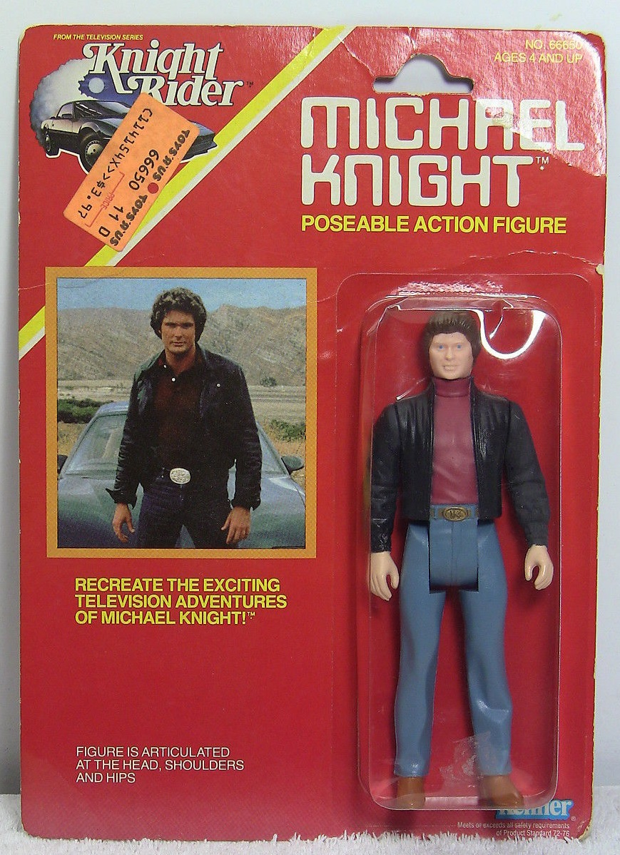 Kenner Knight Rider Figures