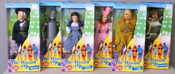 12-inch Wizard of Oz Set
