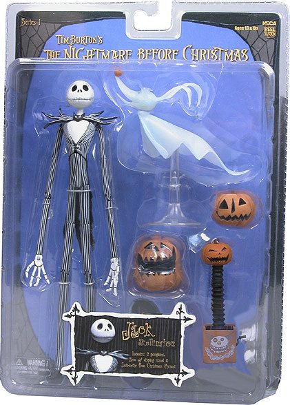 What Nightmare Before Christmas Toys Did NECA make?