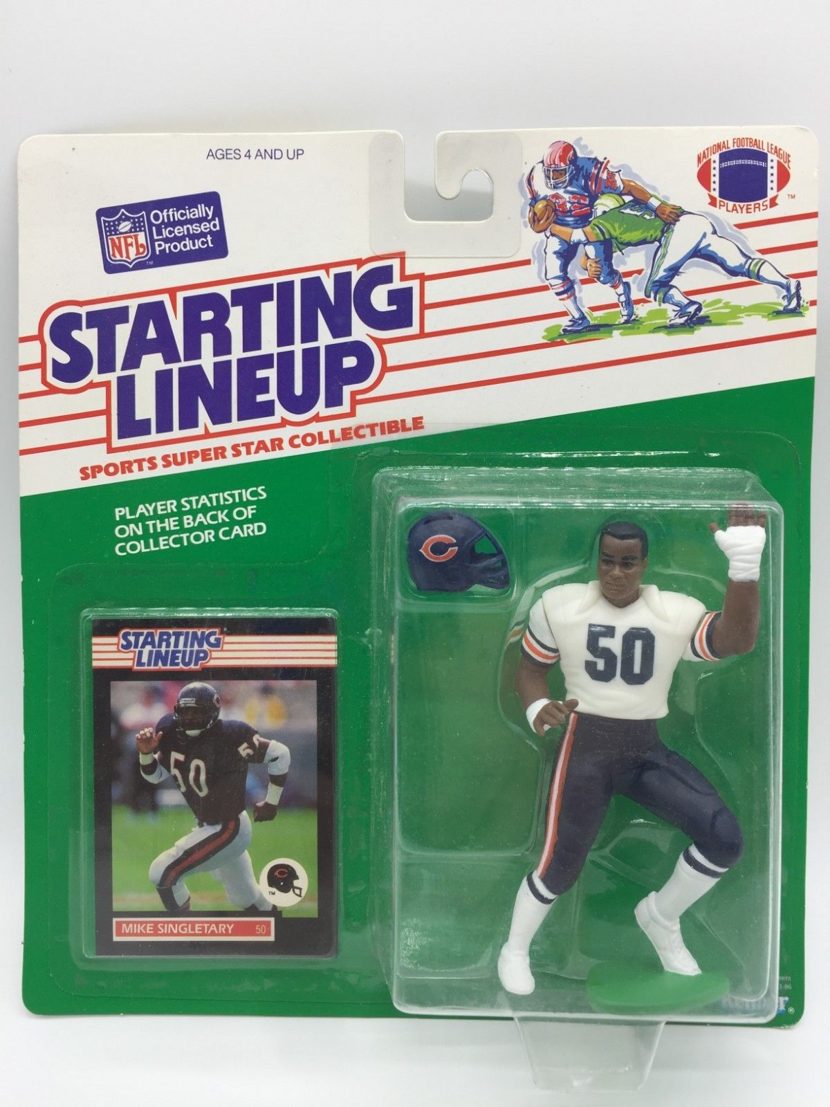 Vintage Kenner NFL Starting Lineup Figures Collectors Guide fcb7b454f